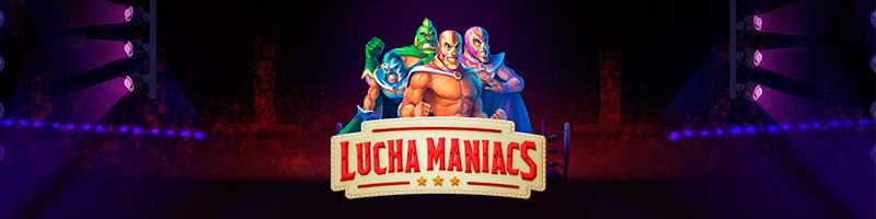 Lucha Maniacs Free Spins from Thrills - view