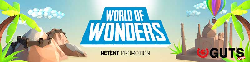 Guts NetEnt World of Wonder-Förderung