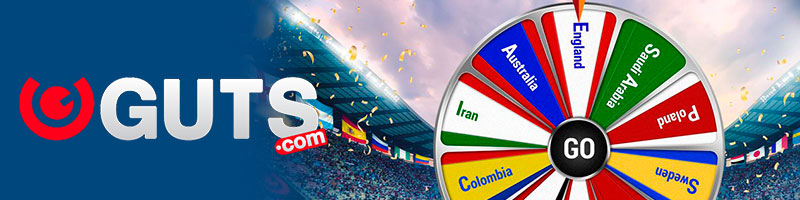 Score free spins with Guts at the World Cup