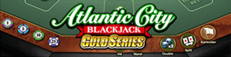Play Atlantic City Blackjack Gold WIN 100