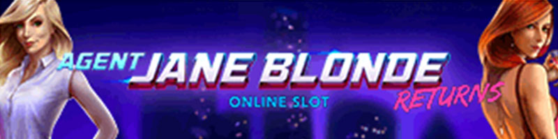 Play Agent Jane Blonde Returns this month and you will be credited with Double Points