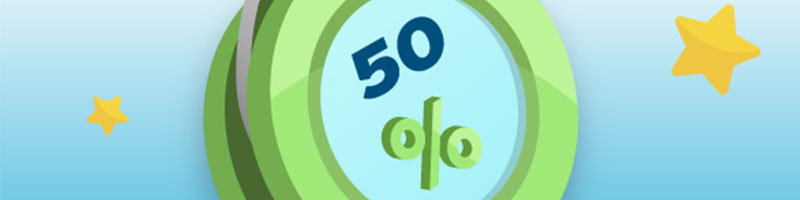 And a Wealthy Weekend with 50 procent Deposit Bonus - view
