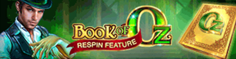 Play Book of Oz WIN 100 USD