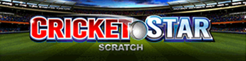 Play Cricket Star Scratch WIN 100 EUR