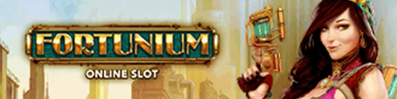 Play Fortunium Slot and WIN 100 - view