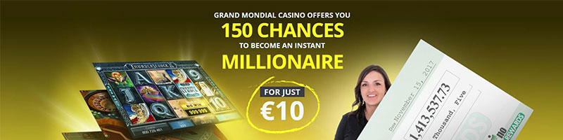 150 CHANCES TO BECOME AN MILLIONAIRE