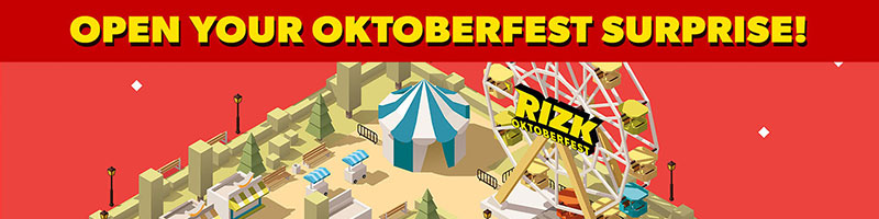 RIZKTOBERFEST 10 days of prizes
