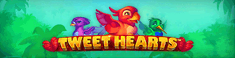 Play Tweet Hearts this weekend and 10 lucky players will receive 100 USD - view