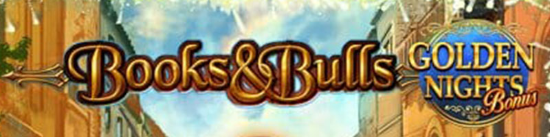 25 Free Spins for Friday on Books and Bulls Golden Nights