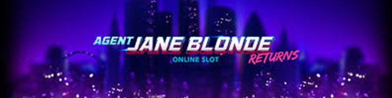 Agent Jane Blonde Returns on Friday with 25 Free Spins
