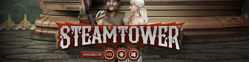 Steamtower 25 Free Spins this Friday