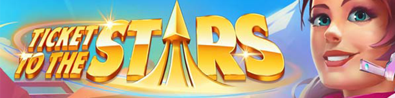 50 Free Spins on Ticket to the Stars on Monday