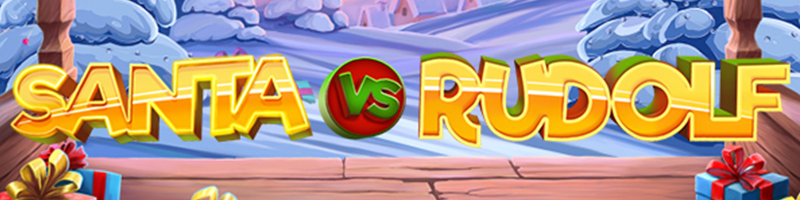 30 Free Spins on Santa vs Rudolph on Thursday