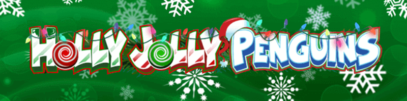 Weekend Super Spins on Holly Jolly Penguins