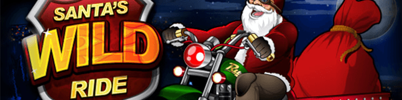 30 Free Spins on Santas Wild Ride for Monday