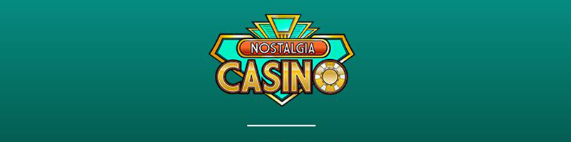 Claim your 20 EUR Bonus for 1 EUR at Nostalgia Casino - view