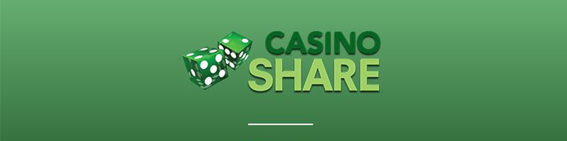A generous 500 EUR in Welcome Bonuses to use to play Casino Share - view